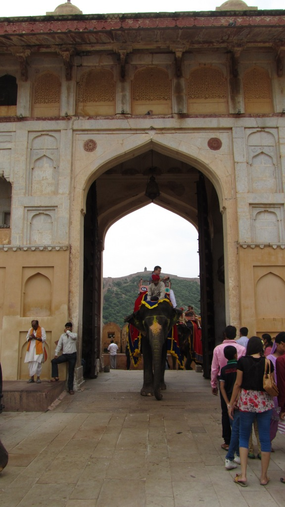 Gateway of Amber Fort