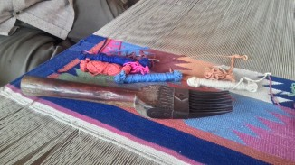 Panja, a claw shaped tool used during the weaving process. Photograph courtesy: Sushmit.