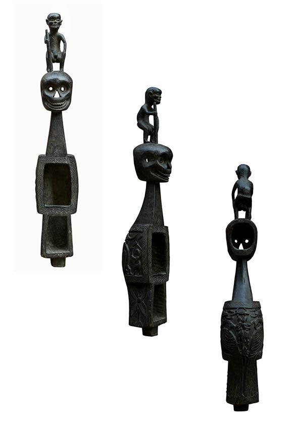 Dhodro banam (Stringed instrument), c.1970, Wood, Carved. Collection: Sushmit Sharma.