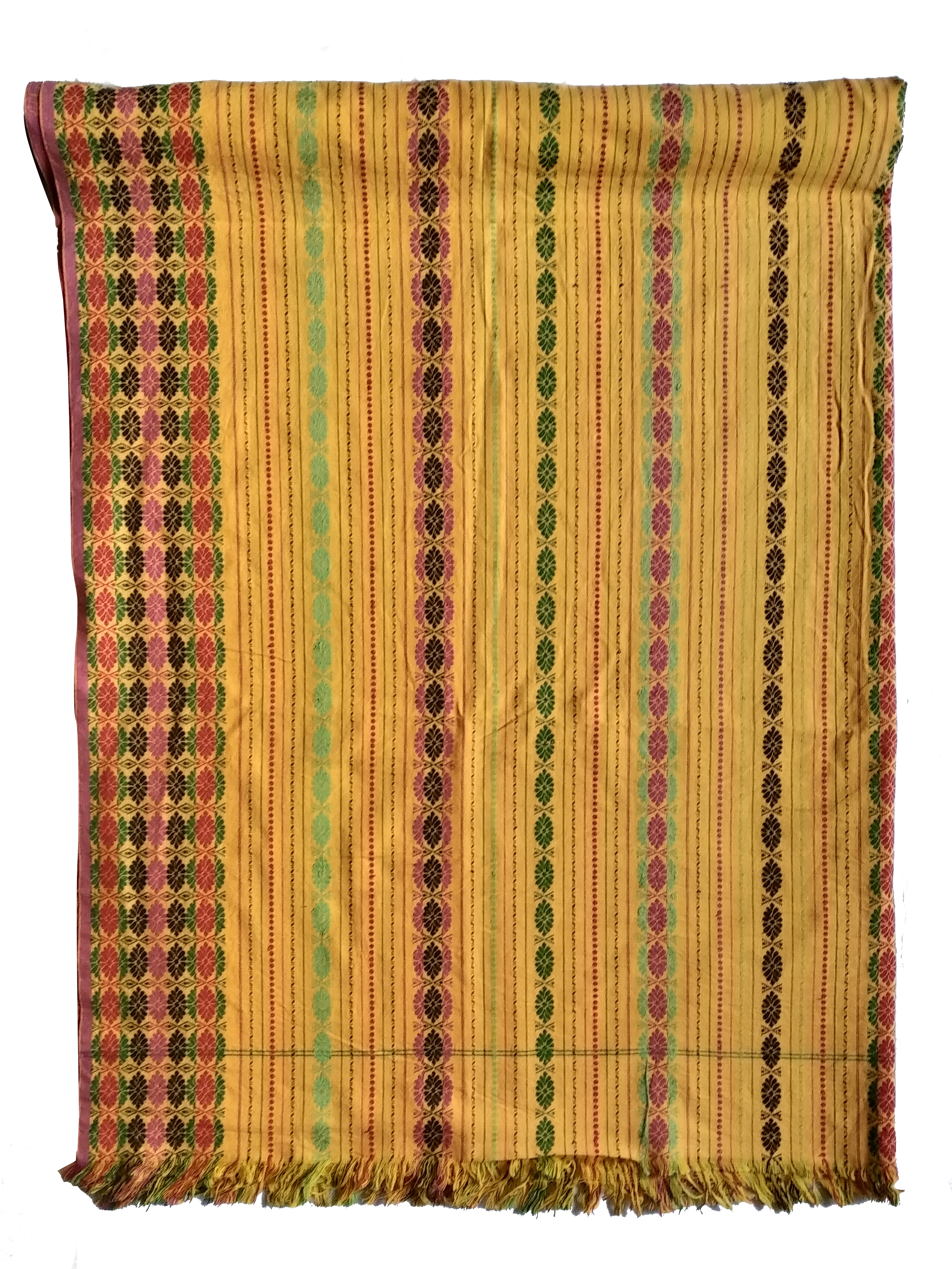 Handwoven dokhonas in traditional design and pattern.
