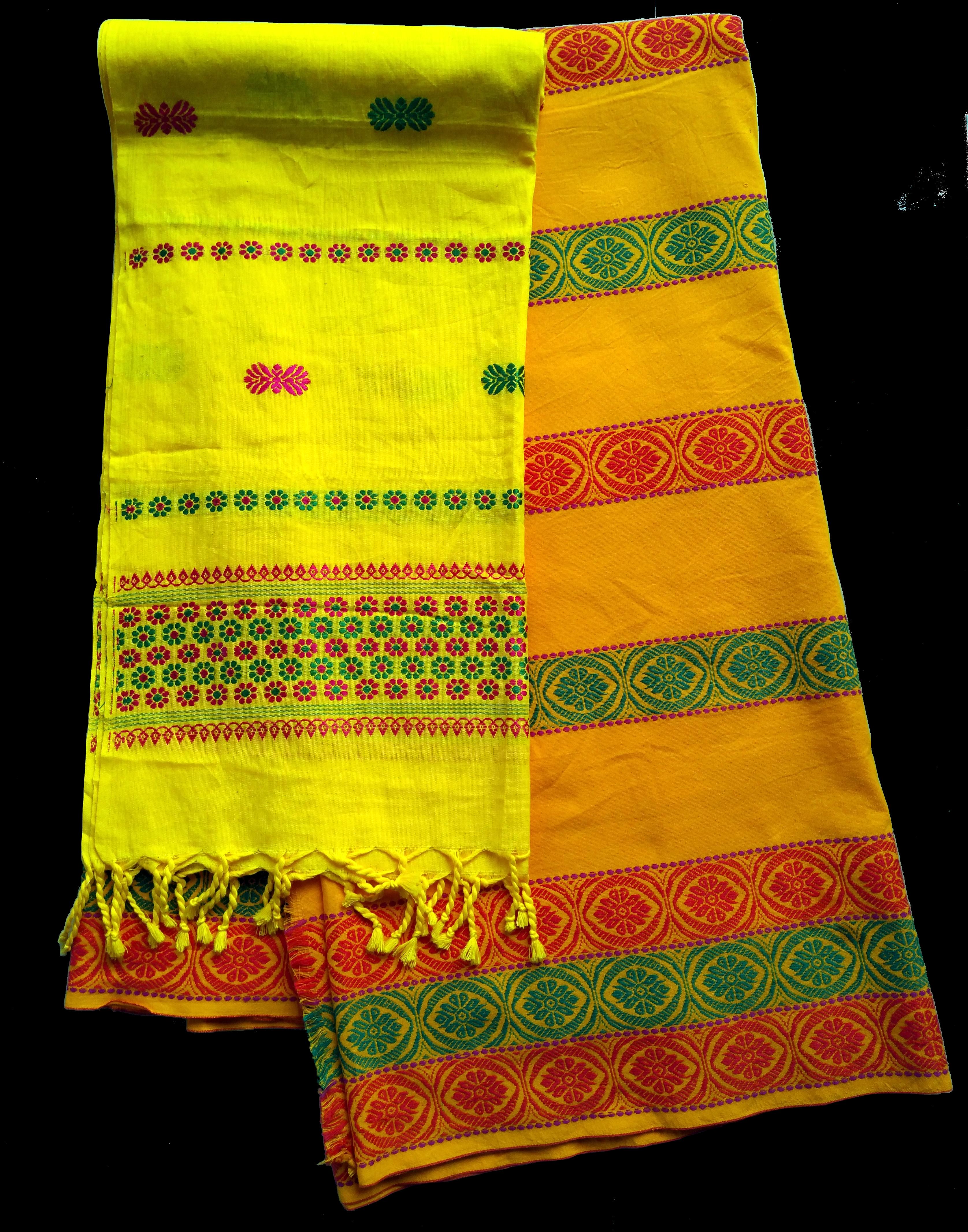A jomgro and dhokana ensemble